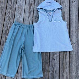 LIKE NEW! Karen Neuburger Loungewear / Pajama 2-Piece Set